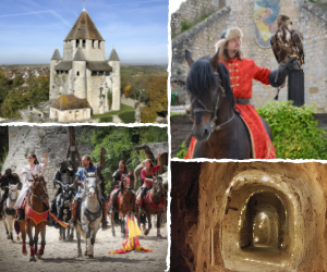 Visite monuments + spectacle Provins